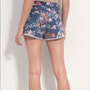 CITIZENS OF HUMANITY Retro Chloe Floral Shorts